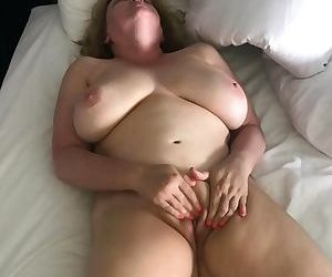 Horny Naked Wife Rubs..