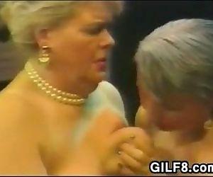 Fat Lesbian Grandmas On..