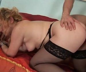 His hot and naughty mom..