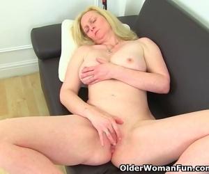 Big titted milf Fiona..