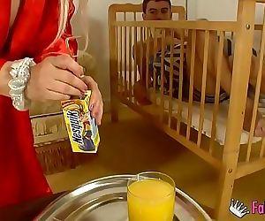His babysitter makes..
