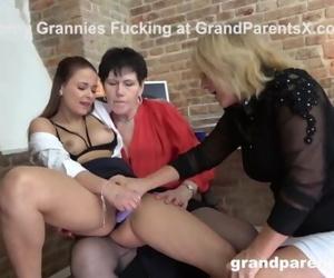 Two Lesbian Grannies..