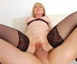 Nina Hartley Gets her..