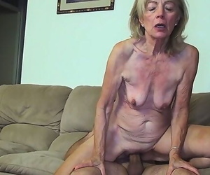 81 Years old Mom Banged..
