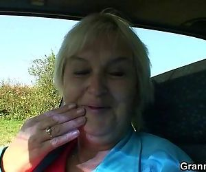 Granny getting pounded..
