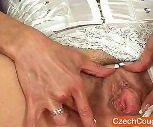 Naked grannie cuddly..