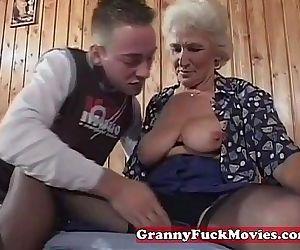 Grandma eager for..