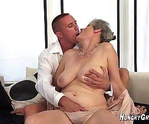 Excellent Horny grandma..