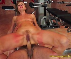 Granny anal sex after..