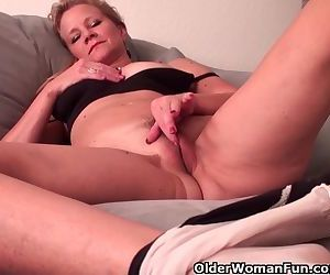 Mature Lady With D-Cup..
