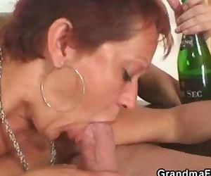 Lonely grandma gets..