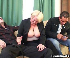 Boozed granny double..