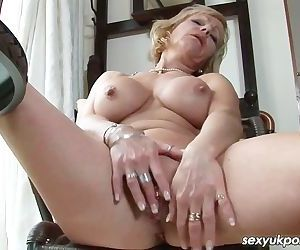 Mature British pornsatr..