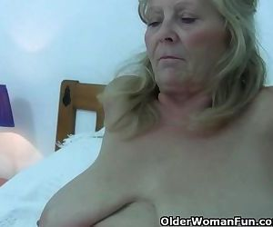 Granny With Big Tits..