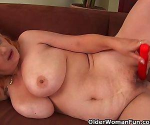 Hairy Grandma With Big..
