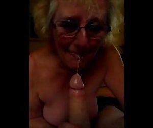 Dirty british granny..
