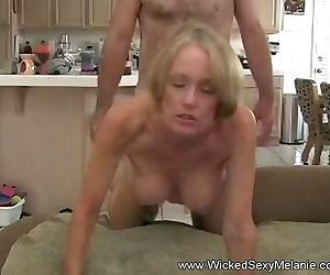 Stepson Gives Mom A..