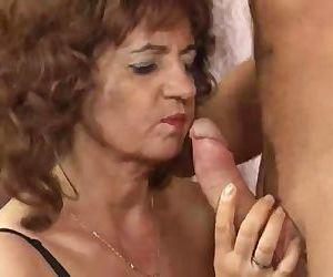 Hot Granny Big Tits In..