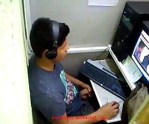 Indian Boy Caught..