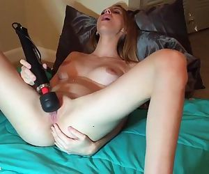 18yr old toys pussy..