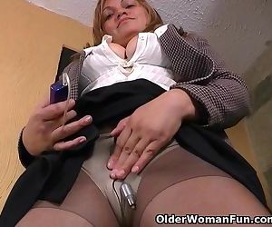 Office milf Allison..