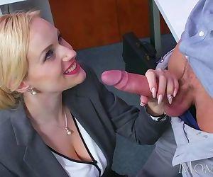 MOM Blonde big tits..