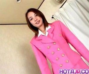 Midori Saejima in pink..