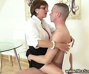 Cuckold watches wife..