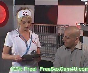 Stocking Nurse suck a..