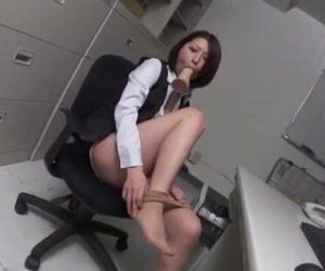 Office dildo play for..