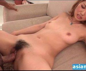 I cum in her hot hairy..