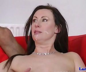 English milf pipe..