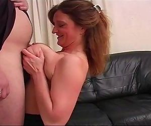 Mature Titfuck For BBW..