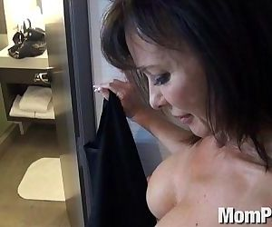 Swinger MILF behind the..