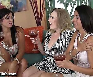 Three MILFs Sharing A..