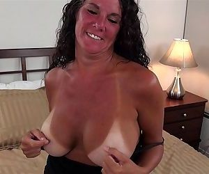 Busty Texas MILF with..