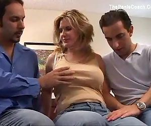 Busty Milf First Time DP