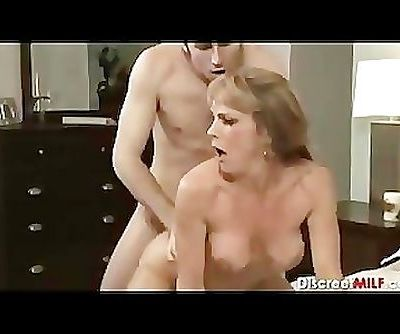 Mature MILF with young..