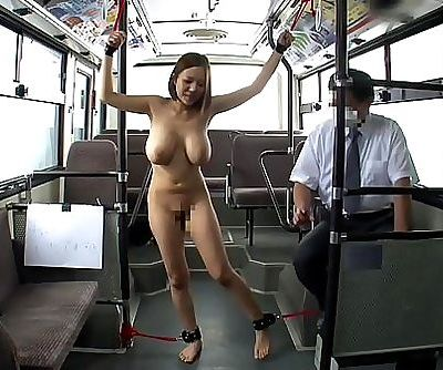 Japanese woman bound in..