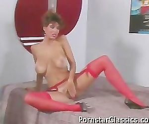 Christy Canyon and Ron..