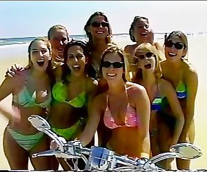 Biker Girls Going Crazy..