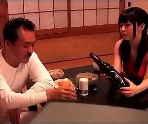 Japanese teen girl gets..