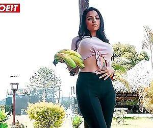 Petite Latina gets..