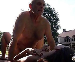 Grandpa fucks young..