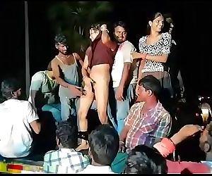 Telugu girl nude dance..