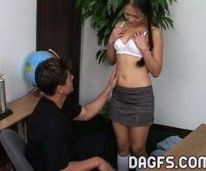 Asian petite is teached..